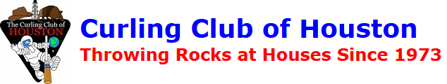Curling Club of Houston banner